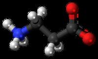 struktur på beta alanin