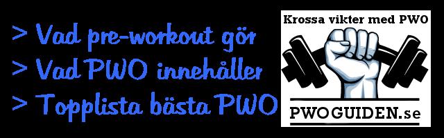 bästa pwo 2016